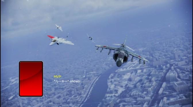 Harrier#4 マッチングレート1600、燃料36個で100万クレジット稼ぐ