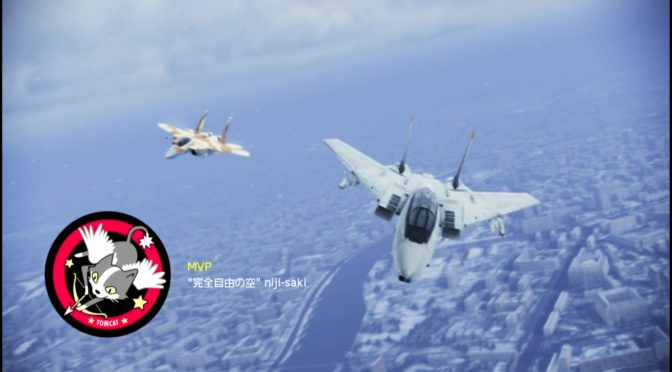 #921-#922 F-14Bペル猫スロット穴あけ強行、着弾地点注視モード飛行